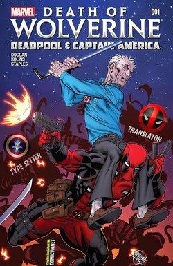 Death of Wolverine - Deadpool & Captain America [One Shot]